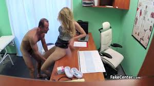 Cock hungry patient fucks doctor in a fake hospital on GotPorn.