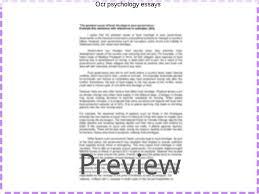 ocr psychology essays essay help ocr psychology essays psychology on abortion a2 essays media research papers epekto ng teknolohiya sa