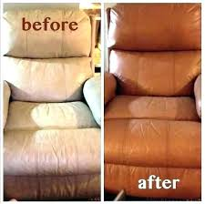 how to paint a leather couch clean from ng
