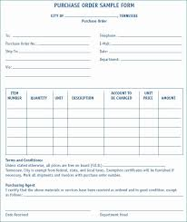 Order Forms Sample Complex 15 Samples Of Purchase Order Templates In