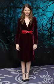 red-velvet-dress-with-heels ...