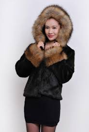 women warm faux fur coat outwear jackets 024031