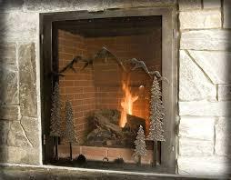 fireplace screens menards replacement built in fireplace screens ideas home depot
