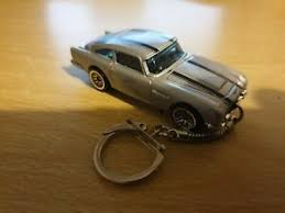 Diecast Aston Martin Db5 Silver Forza Toy Car Keyring Keychain Recorded Delivery Ebay