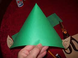 easy fast and cheap holiday craft the elf hat fun learning life easy fast and cheap holiday craft the elf hat