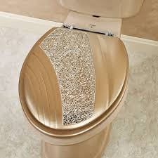 gold plated toilet seat. glamour elongated toilet seat champagne gold. click to expand gold plated