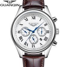 online get cheap classic mens watches top 10 aliexpress com original guanqin men s quartz watches men top bran
