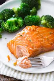 cooked salmon color. Beautiful Salmon This Simple Garlic Honey Glazed Salmon Is Ready In Only 35 Minutes To Cooked Color H