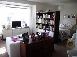 Studio Apartment Bedroom Exterior Simple Design Ideas