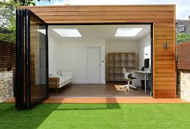detached home office. Detached Extension And Summer House In Calbourne Road, London Contemporary- Home-office- Home Office