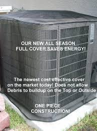 ac unit cover. amazon.com: air conditioner summer full cover 36x36x36 black: home \u0026 kitchen ac unit