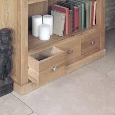 baumhaus mobel oak large 3 drawer bookcase baumhaus mobel oak large 3