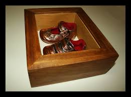Picture Frame Box Baby Shoes Shadow Box Frame Framework Studios