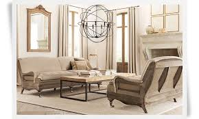 Image Of: Restoration Hardware Coffee Table Style