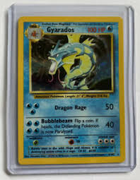 Rookie cards, autographs and more. Gyarados 1999 Original Rare Holographic Pokemon Card 6 102 Unlimited Ebay