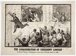 「President Lincoln assassination in Ford's Theater 」の画像検索結果