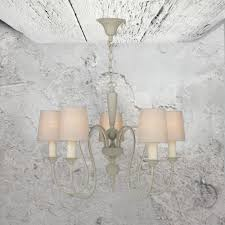 5 light antique french chandelier