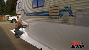 install your rv skirting with a partner