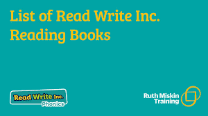 We see uk primary schools and there is a strong children learning to read very quickly correlation between read write inc. Home Reading Ruth Miskin Phonics Training