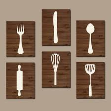 kitchen wall art wooden frames six panels knife spatula fork spoon rolling pin manual pressed mixer painting artwork adorable  on knife fork spoon kitchen wall art with wall art new design canvas kitchen wall art kitchen prints and