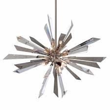 a large image of the corbett lighting 140 47 silver leaf