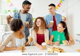 Corporate Celebration Corporate Celebration People Image Photo Bigstock