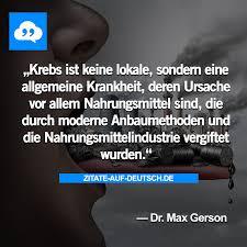 Doktor Gift Industrie Krankheit Krebs Maxgerson