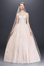 pink wedding dresses gowns david s bridal