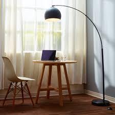 Versanora Arquer Black Marble Arc Floor Lamp - Free Shipping Today ...