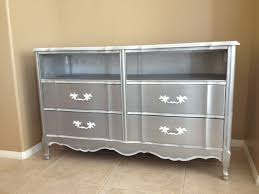 Dresser With Cabinet French Provincial Dresser Converted To Media Cabinet Tv Stand