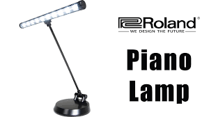 roland led piano lamp