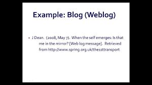 How To Cite A Blog In Apa Wpvirtuoso