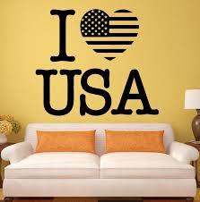 online get cheap usa flag wall decals aliexpresscom  alibaba group