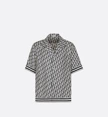 Dior Oblique <b>Hawaiian Shirt</b> Multicolor Silk Twill - <b>Men's Fashion</b>