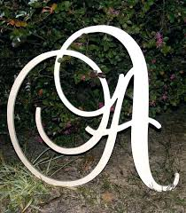 wooden monogram letters for wall initials decor inspirational large hanging f