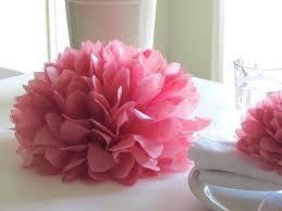 Tissue Paper Flower Centerpieces Tissue Paper Flower Centerpieces
