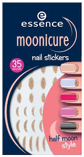 Купить наклейки для ногтей <b>essence</b> Moonicure Nail Stickers Half ...
