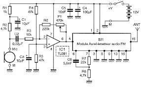wireless transmitter microphone circuit owner and manual wireless transmitter microphone circuit schematics