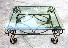 medium size of interior wrought iron coffee table base fantastic furniture round decorative 25 wrought