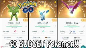 Top 40 BUDGET Pokemon To Power Up In Pokémon GO! (2020) | Which Pokemon Are  Worth Powering Up?! - YouTube