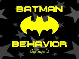 Batman Behavior Chart Batman Behavior Clip Chart