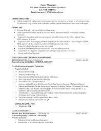 Sample Resume For Medical Technologist Med Tech Resume Sample