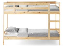Save space and double your comfort with IKEA bunk beds.