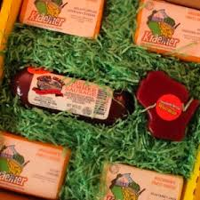 gift box four cheese sausage novelty cheese j