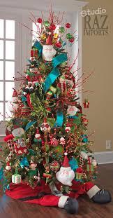 Multi - Colored Christmas Tree  Christmas Tree DecorationsChristmas ...