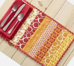 Quilt As You Go Placemats In Half The Time As Before – Quilting Cubby & Modas Studio M Mixed Bag Collection Jelly Roll Placemats Adamdwight.com