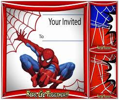 Spiderman Birthday Invitation Templates Free 21 Meticulous Printable Spiderman Invitation Template