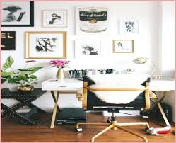 chic office design. Chic Office Design Decor Home Black Desk Chair With Gold Accents White
