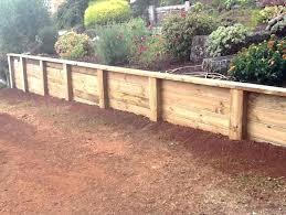 retaining wall using sleepers set timber retaining wall sleeper posts timber retaining wall timber retaining wall