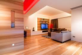 Wood Living Room Interior Design Ideas